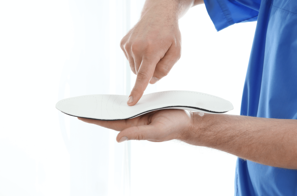 orthopedic insoles medical foot correction